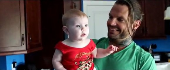 Go Back  gt  Pix For  gt  Jeff Hardy And His Daughter RubyJeff Hardy And His Daughter