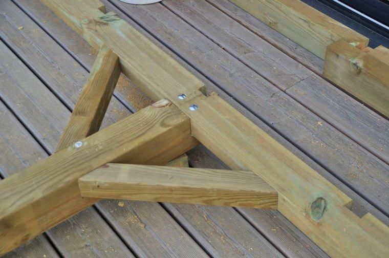assemblage premi re partie construction de ma maison en bois. Black Bedroom Furniture Sets. Home Design Ideas