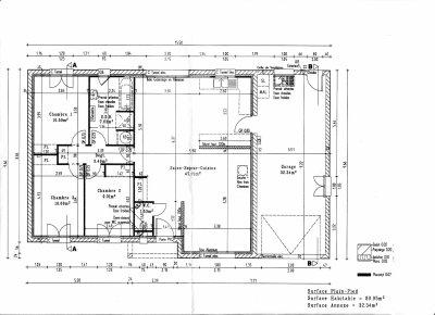 Blog de cyrilleetmilie maison de cyrille et milie for Plan maison avec cotation