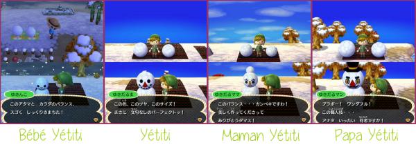 La famille Yétiti